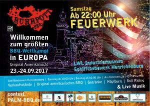 Ruhrpott BBQ Flyer